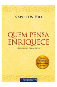 Capa livro Quem Pensa Enriquece - Napoleon Hill