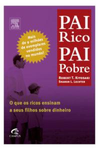 Capa livro Pai Rico, Pai pobre - Robert T Kyiosaki